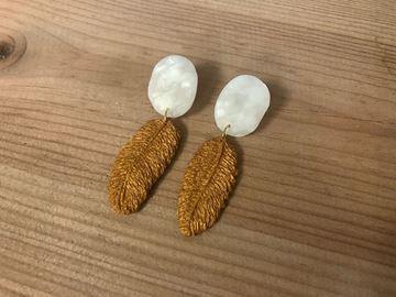 Picture of Pendientes Plumas Mini
