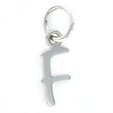 Picture of COLGANTE WORDS INICIAL F DE PLATA DE 10MM