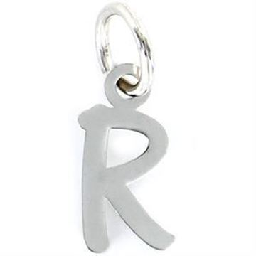 Picture of COLGANTE WORDS INICIAL R DE PLATA DE 10MM