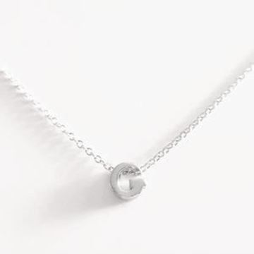 Picture of COLLAR PLATA INICIAL LETRA C RODIO